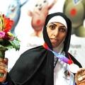 سمیه حیدری قهرمان کوراش ایران