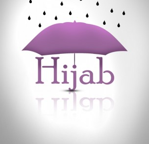 شعری درمورد حجاب و چتر