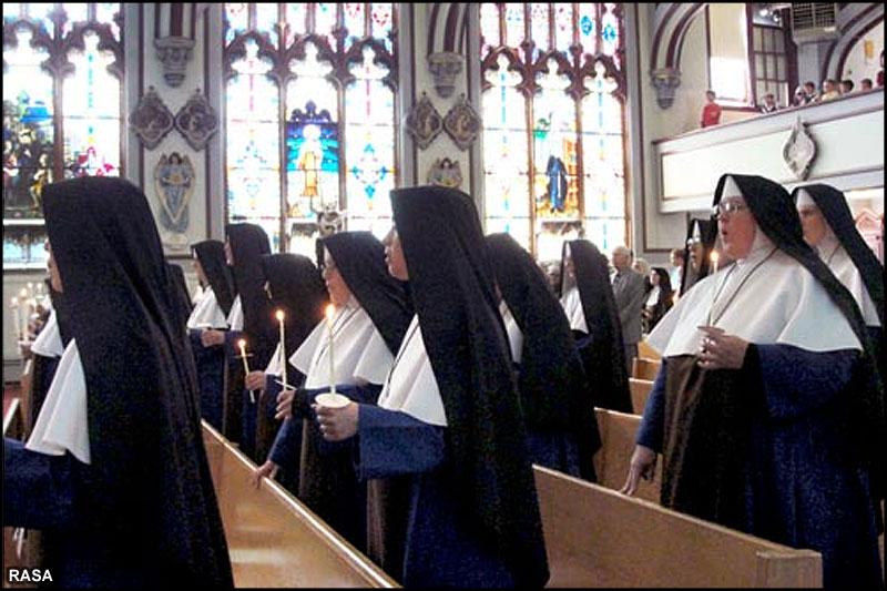 حجاب در دین مسیحیت