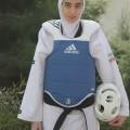 کیمیا علیزاده قهرمان حجاب نوجوان ایرانی