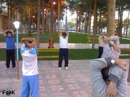 خاطره امر به معروف ورزش در پارک