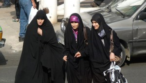 حجاب مخالف اوست